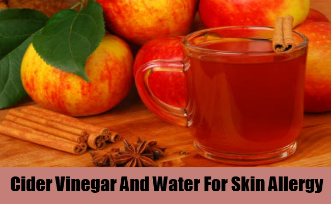 Cider Vinegar And Water