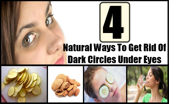 Natural Ways To Cure Dark Circles Under Eyes