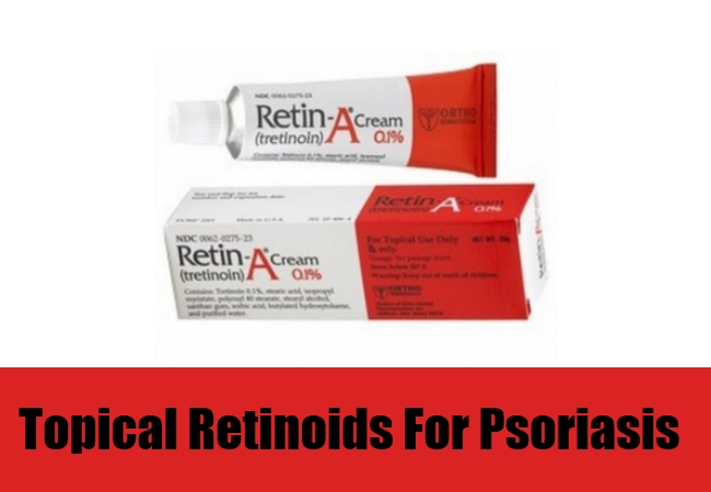 Retinoids can slow the growth of skin cells in patients with psoriasis 2