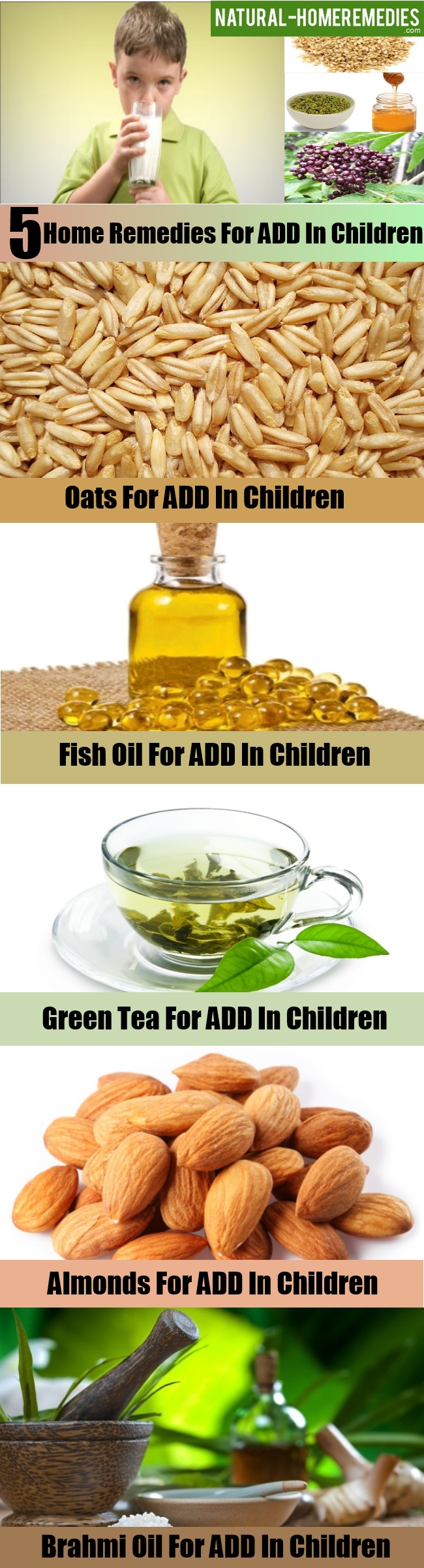 Natural remedies for add in child